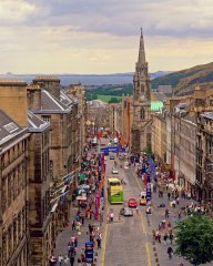 Royal Mile, Edimbourg, Ecosse