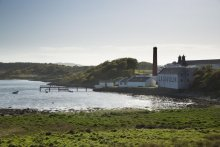 Lagavulin Distillerie, Ile d'Islay, Whisky, Ecosse