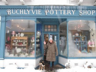 Alison de Buchlyvie Pottery Shop