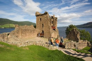 Loch Ness, Chateau Urquhart, Ecosse