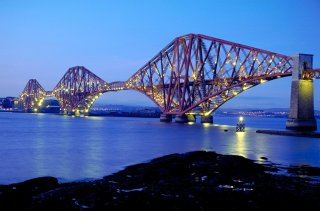 Forth Bridge, Firth of Forth, Ecosse