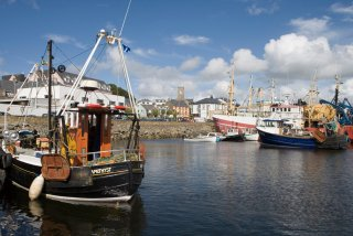 Le port de Killybegs - Donegal, Irlande