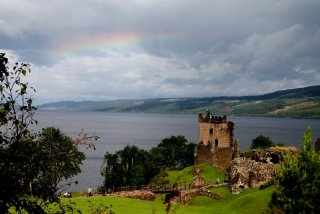 Chateau d'Urquhart, Loch Ness, Inverness, Ecosse