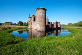 Chateau de Caerlaverock, Dumfires and Galloway, Ecosse