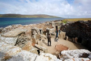 Broch of Gurness, Orkney, Ecosse