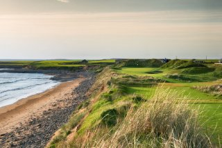 Club de Golf Links de Trump Doonbeg dans la comté de Clare, Irlande