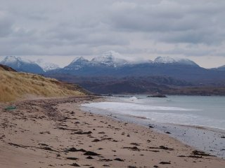 Plage de Big Sands, Highlands, Ecosse