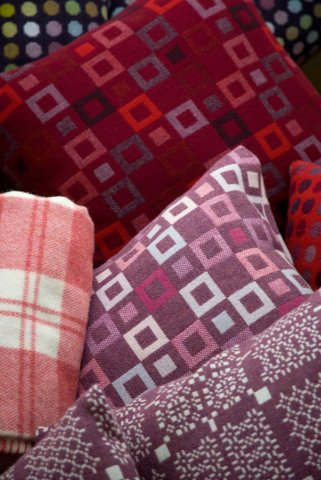 plaids traditionnelles « pure laine » - welsh blankets, Pays de Galles