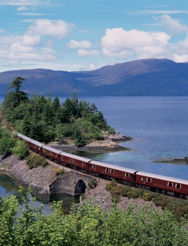The Royal Scotsman, Ecosse