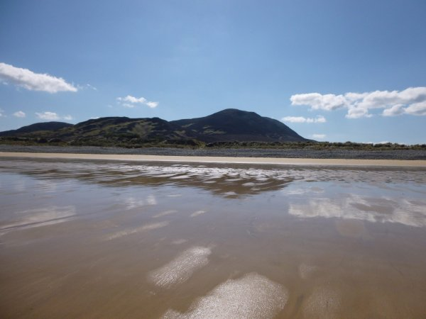 Tullagh Bay - vue de la plage - Inishowen, Donegal - Irlande