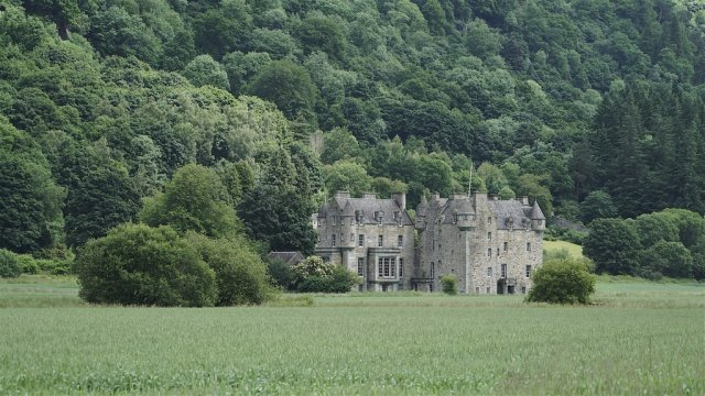 Menzies Castle, Ecosse
