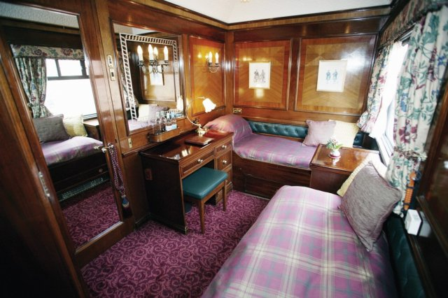 The Royal Scotsman, Wagon Cabine, Ecosse