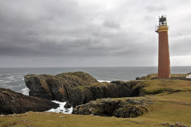 Phare The Butt of Lewis, Ile de Lewis, Ecosse