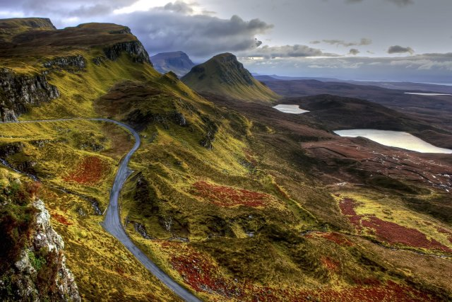 "Les ""Single Track Roads"", en Ecosse"