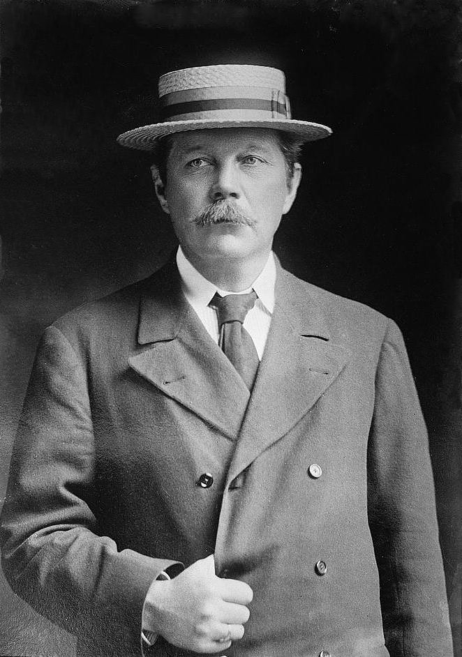 Arthur Conan Doyle, By The Library of Congress [Public domain], via Wikimedia Commons