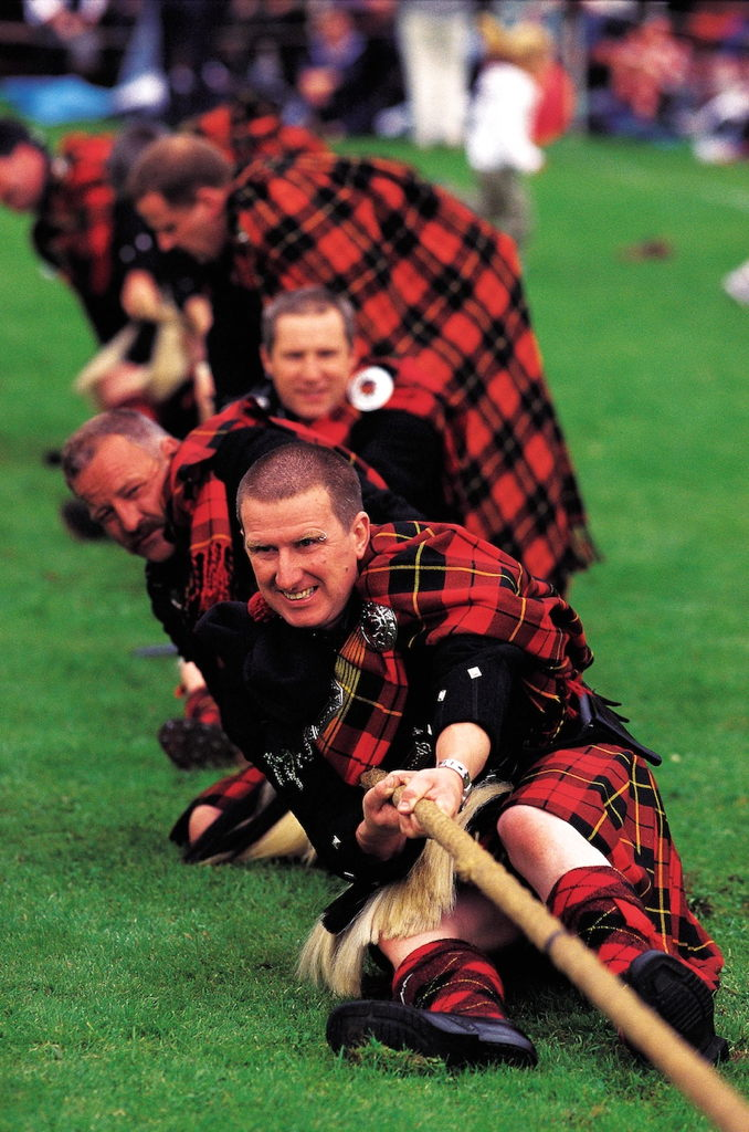 Tire à la corde, Tug o war, Highland Games, Ecosse