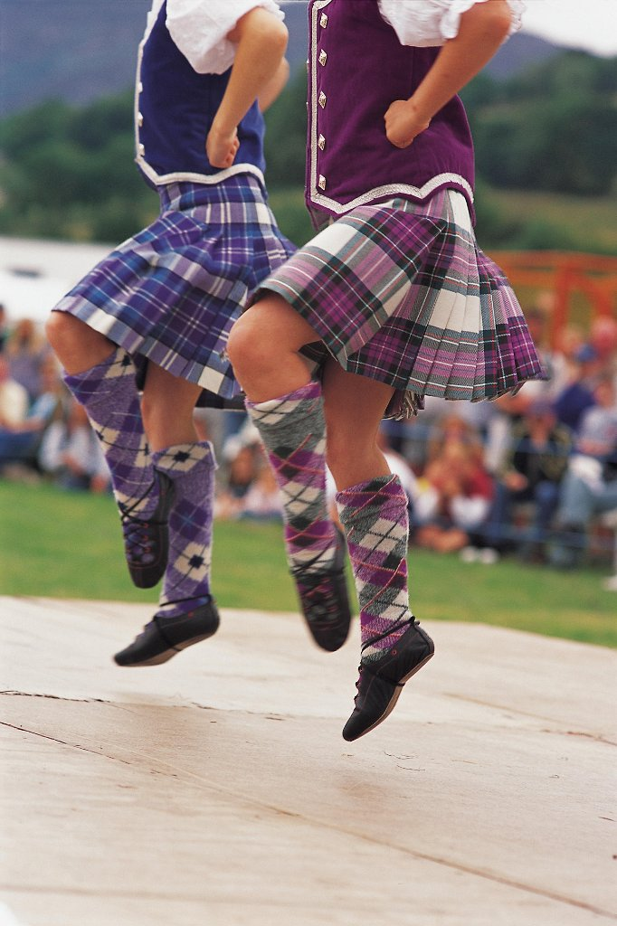 Dance, Highland Games, Ecosse