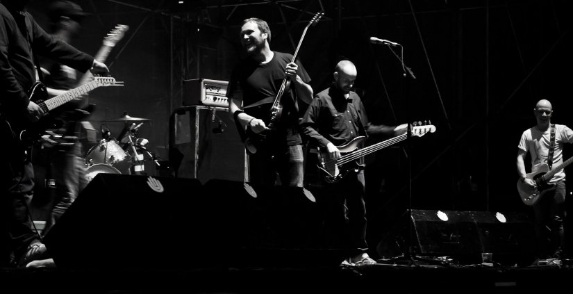 Mogwai, groupe pop-rock écossais - By Ferran from Amposta (Mogwai) [CC BY 2.0 (http://creativecommons.org/licenses/by/2.0)], via Wikimedia Commons