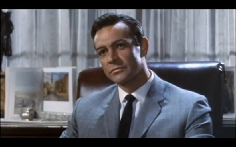 Sean Connery, By Trailer screenshot (Marnie trailer) [Public domain], via Wikimedia Commons