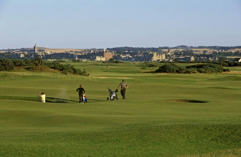 Golf de St Andrews - Fife, Ecosse