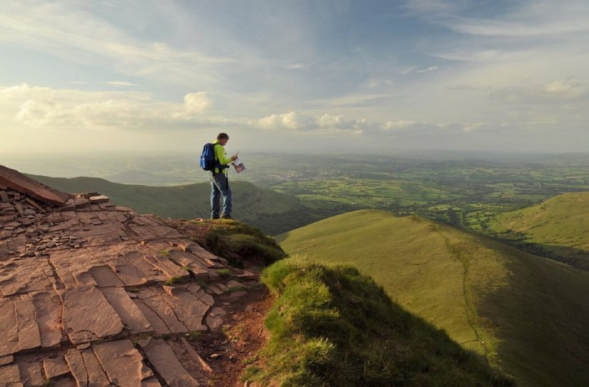 Point de Vue - Parc Brecon Beacons - Pays de Galles