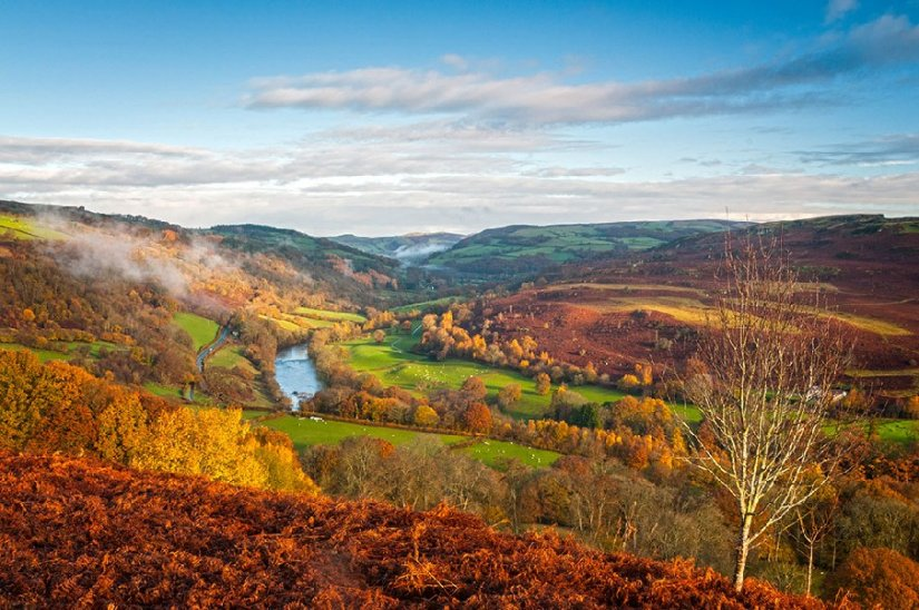 Wye Valley, Pays de Galles