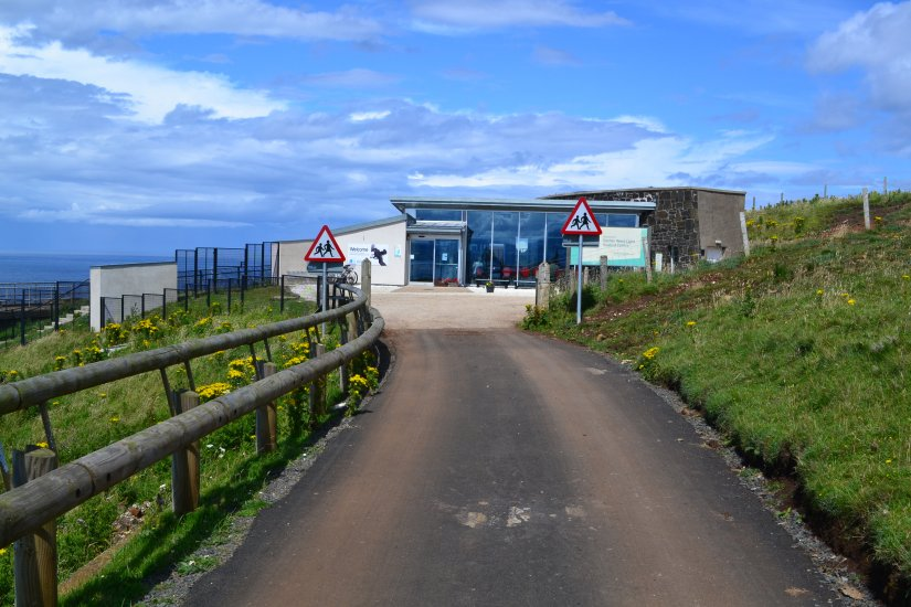 Seabird center, Rathlin island