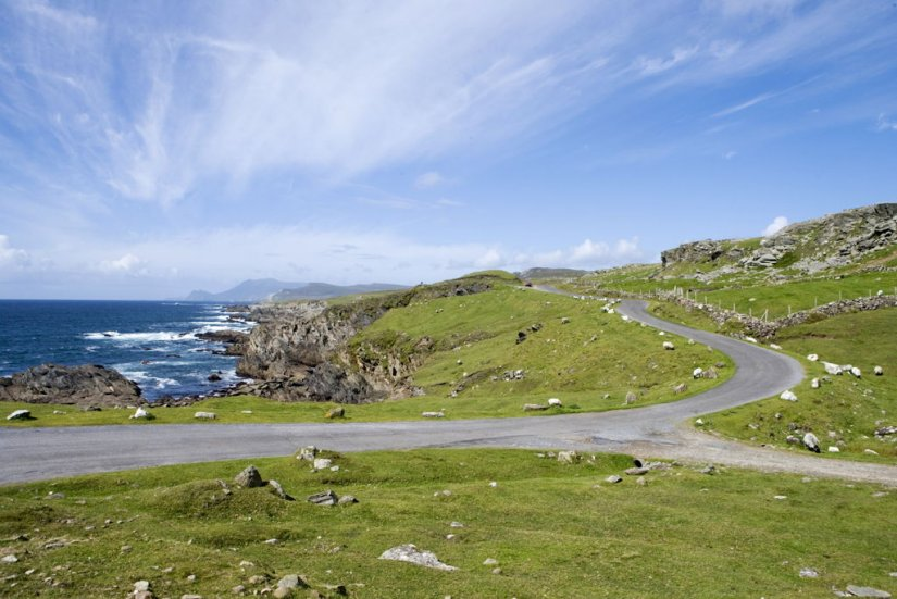 Wild Atlantic Way, Achill, Mayo, Irlande