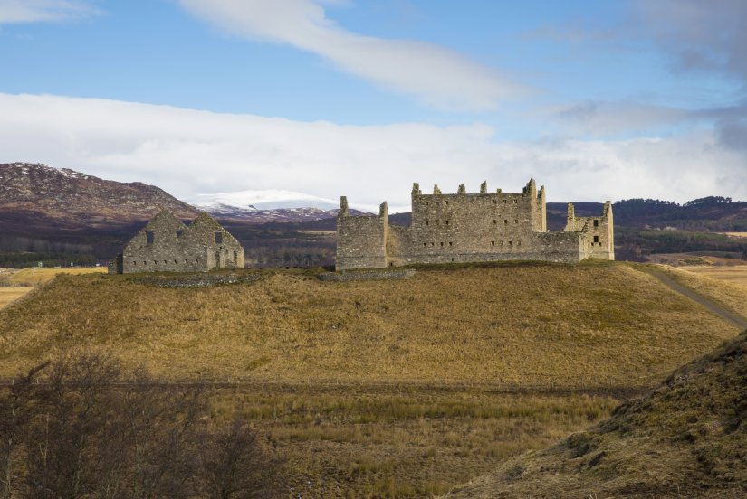 ruthven barracks ecosse
