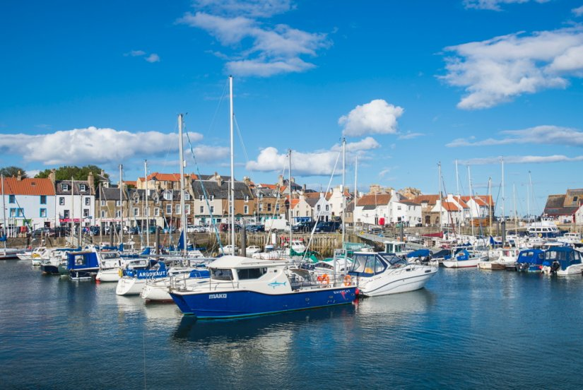 Port d'Anstruther, Région de Fife, Ecosse