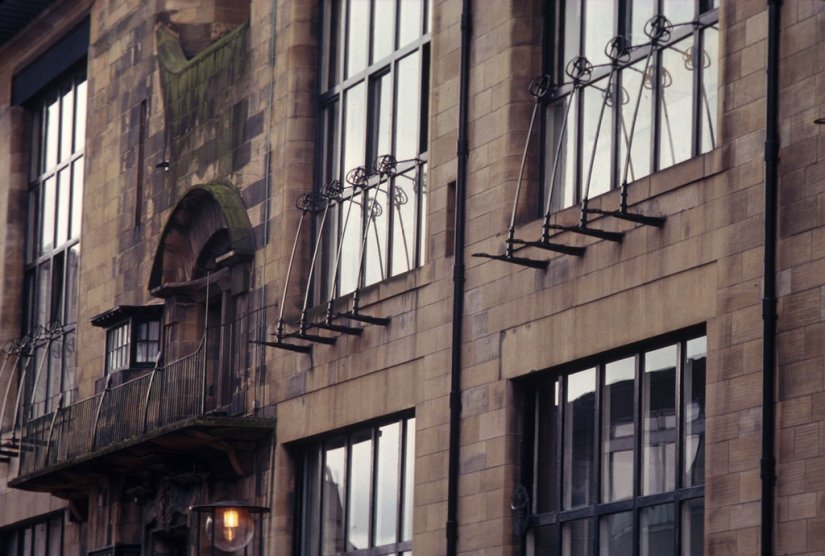 School of Art de Glasgow, Design de Charles Rennie Mackintosh, Ecosse