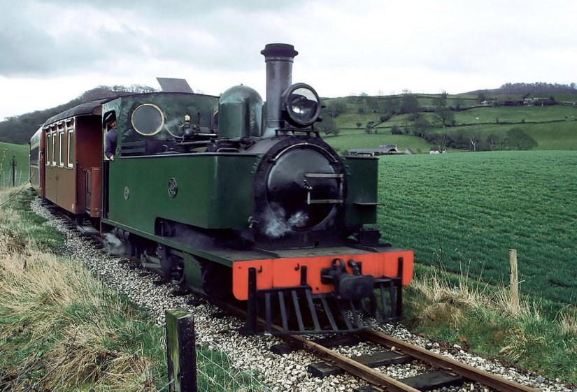 Welshpool Llanfair Light Railway, Train, Pays de Galles