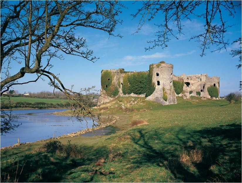 Carew Castle, Pembrokeshire, Pays de Galles
